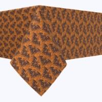 "Rectangular Tablecloth, 100% Polyester, 60x104"", Halloween Bat Lace"