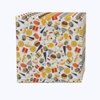 "Napkin Set, 100% Polyester, Set of 12, 18x18"", Hanukkah Celebration Essentials"