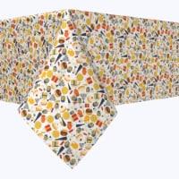 "Rectangular Tablecloth, 100% Polyester, 60x104"", Hanukkah Celebration Essentials"