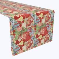 """Table Runner, 100% Polyester, 12x72"""", Merry Christmas Wonderland"""