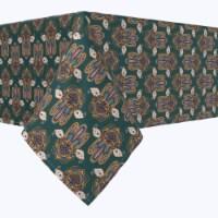 "Square Tablecloth, 100% Polyester, 60x60"", Ornamental Hamsa Decoration"