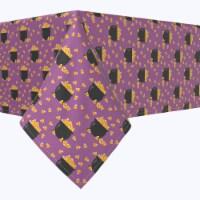 "Rectangular Tablecloth, 100% Polyester, 60x104"", Pot of Candy Corn"