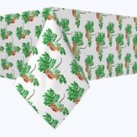 "Rectangular Tablecloth, 100% Polyester, 60x104"", Rowan Tree Silhouettes"