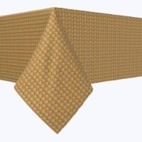 "Square Tablecloth, 100% Polyester, 60x60"", Fine Cane Woven Fibers"