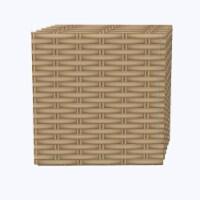 "Napkin Set, 100% Polyester, Set of 12, 18x18"", Tight Weave Basket"