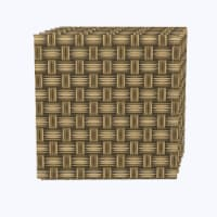"""Napkin Set, 100% Polyester, Set of 12, 18x18"""", Wicker Wood Carving - 12 Units, 1 Product"""