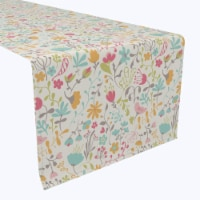"""Table Runner, 100% Polyester, 12x72"""", Blooming Springs"""