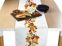 "Table Runner, 100% Polyester, 12x72"", Fall Foliage Garland"