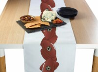 "Table Runner, 100% Polyester, 14x108"", Football Garland"