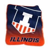 University of Illinois Raschel Throw Blanket - 1 ct