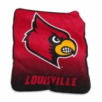 University of Louisville Raschel Throw Blanket - 1 ct