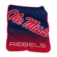 University of Mississippi Raschel Throw Blanket - 1 ct