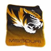 Missouri Tigers Raschel Throw - 1 ct