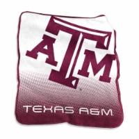 Texas A&M University Raschel Throw Blanket - 1 ct