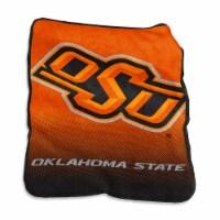 Oklahoma State University Raschel Throw Blanket - 1 ct
