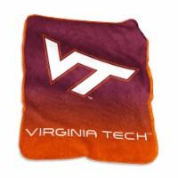 Virginia Tech Hokies Raschel Throw - 1 ct