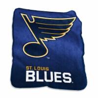 St. Louis Blues Raschel Throw Blanket - 1 ct