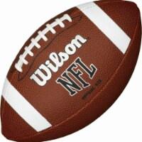 Logo Brands 108-93FC-1 Arkansas Team Stripe Official-Size Composite Football