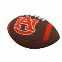 Logo Brands 110-93FC-1 Auburn Team Stripe Official-Size Composite Football - 1