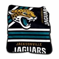 Jacksonville Jaguars Raschel Throw Blanket - 1 ct