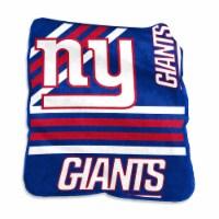 New York Giants Raschel Throw Blanket - 1 ct