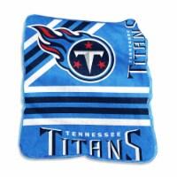 Tennessee Titans Raschel Throw Blanket - 1 ct