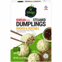 CJ Bibigo Chicken & Vegetable Steamed Dumplings