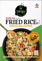 CJ Bibigo Korean Style BBQ Chicken Fried Rice Frozen Meal
