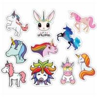 MightySkins D-10PAK-13 Unicorns 10 Pack of Sticker Set for Water Bottles & Laptops High Quali