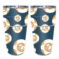 MightySkins YEPINT16-Mini Galaxy Bots Skin for Yeti Rambler 16 oz Stackable Pints - Mini Gala - 1