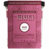 Mrs. Meyer's Mum Soy Candle - 1 ct