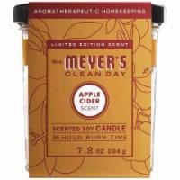 Mrs. Meyer's Apple Cider Soy Candle - 7.2 oz
