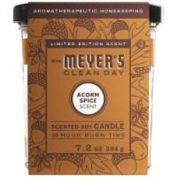 Mrs. Meyer's Acorn Spice Soy Candle - 7.2 oz