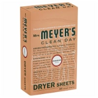 Mrs. Meyers Geranum Dryer Sheets