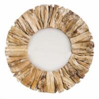 Evergreen Garden Drift Wood Mirror - 1 ct