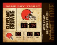 Cleveland Browns Bluetooth Scoreboard Wall Clock