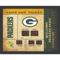 Green Bay Packers Bluetooth Scoreboard Wall Clock