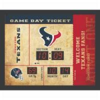 Houston Texans Bluetooth Scoreboard Wall Clock