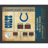 Indianapolis Colts  Bluetooth Scoreboard Wall Clock