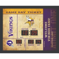 Minnesota Vikings Bluetooth Scoreboard Wall Clock