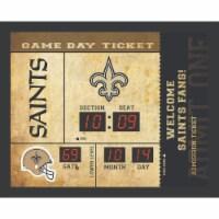 New Orleans Saints Bluetooth Scoreboard Wall Clock