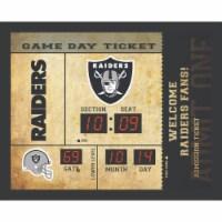 Las Vegas Raiders Bluetooth Scoreboard Wall Clock