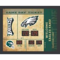 Philadelphia Eagles Bluetooth Scoreboard Wall Clock