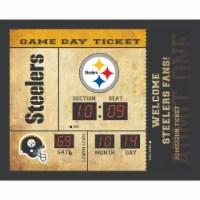 Pittsburgh Steelers Bluetooth Scoreboard Wall Clock