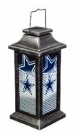 Dallas Cowboys Solar Garden Lantern
