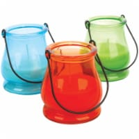Sierra 6.4 Oz. 1-Wick Lantern Jar Citronella Candle 7738 - 6.4 Oz.