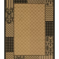 United Weavers of America 750 01570 58 5 ft. 3 in. x 7 ft. 2 in. Affinity Country Kitchen Mul - 1