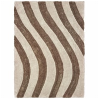 United Weavers of America 2100 21626 24 1 ft. 10 in. x 3 ft. Finesse Streamer Beige Rectangle - 1