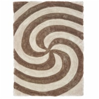 United Weavers of America 2100 21726 58 5 ft. 3 in. x 7 ft. 2 in. Finesse Pinnacle Beige Rect