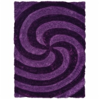 United Weavers of America 2100 21783 24 1 ft. 10 in. x 3 ft. Finesse Pinnacle Violet Rectangl